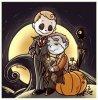 """OS~Johnlock/Mystrade~ ( pour Halloween en retard ^^"""" )"""