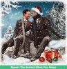 OS~Johnlock/Mystrade Christmas~