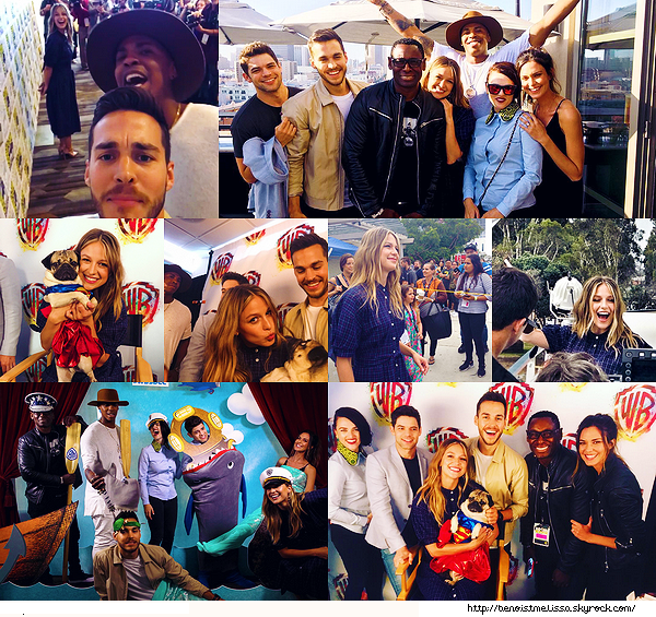•••  SOCIAL MEDIA Voici de nouvelles photos prises lors du Comic Con 2017                                         Par manque de news je vous poste des photos prises lors du dernier comic con, ce ne sont que mes favorites.