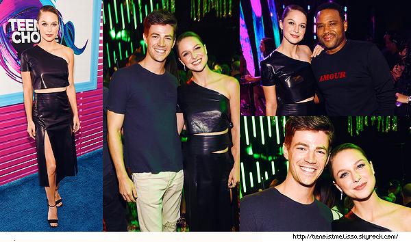 •••  EVENT Melissa et Grant lors de la cérémonie des Teen Choice Awards 2017,  13 Août 2017             Troisième partie des photos de la cérémonie. Et une autre photo de Mal à l'aéroport direction Vancouver pour le tournage de Supergirl.