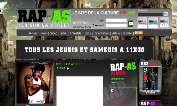"G-MIX ""  EXCLU SUR RAP AS"