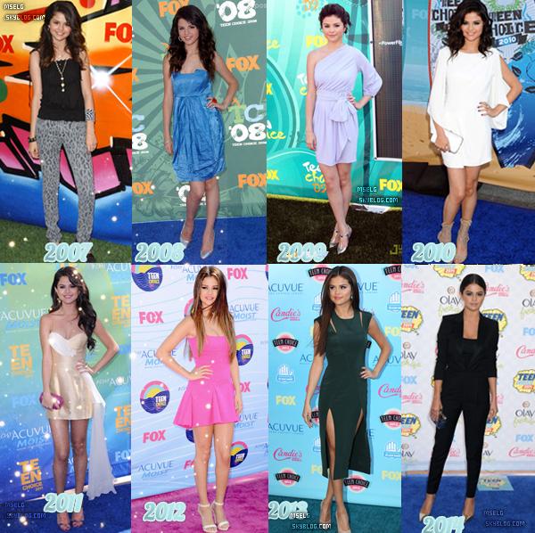 T.C.A | ✿ D'ado à femme fatal laquelle de ces années avez-vous préféré les tenues ? | ►  VOTEZ !  |