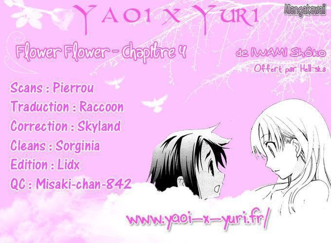 Flower Flower - Partie 4 Chap 4 [Vol 1 VF]
