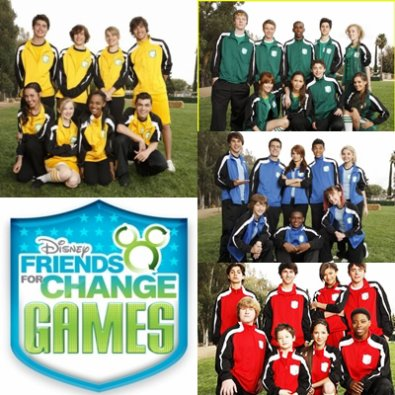 Disney Friends For Change Games commencent le 24 juin 2011 !