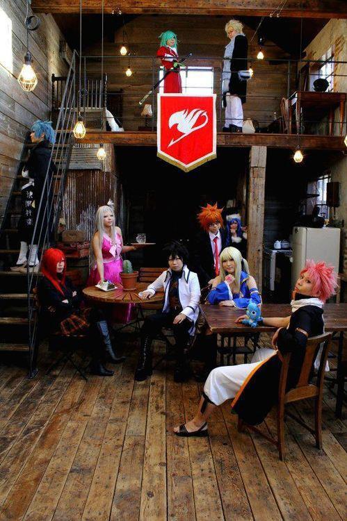 Cosplay pandora hearts et fairy tail:-)