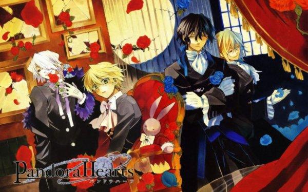 Les jolies images de Pandora Hearts :-)