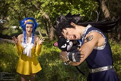 fairy tail, cosplay !