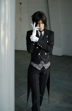 Sebastian cosplay ^^