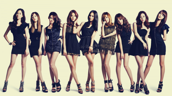 Les Girls' Generation(SNSD) !
