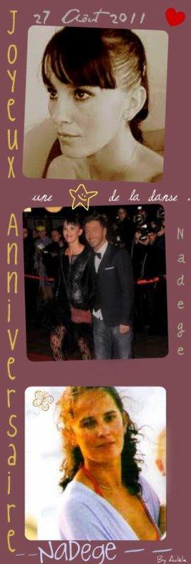 27 Aôut 2011→ Happy Birthday Nadège !  ♥
