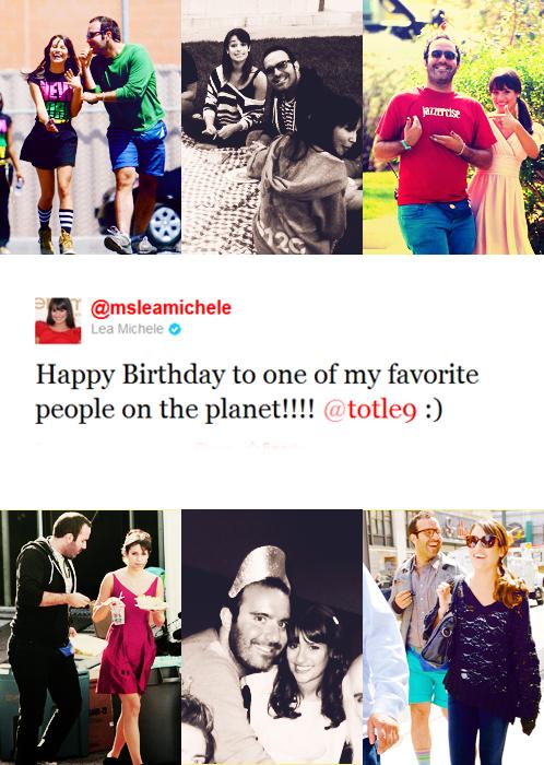 12 octobre : Notre Lea souhaitant un joyeux anniversaire à un de ses amis ...