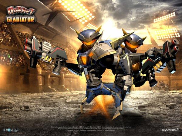 Ratchet Gladiator , Ps2