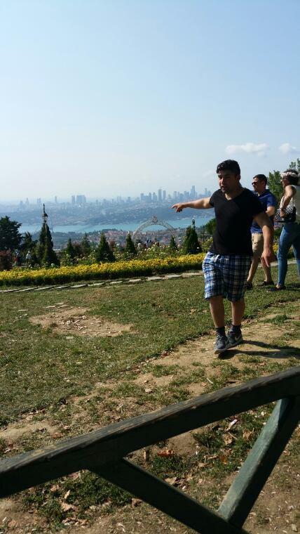 Moi à Istanbul