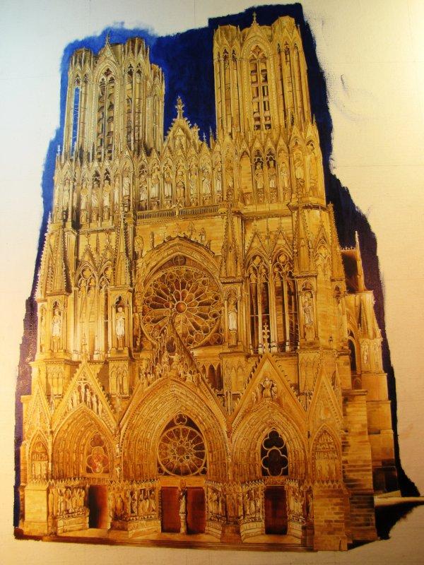 du taf, Cathédrale de Reims