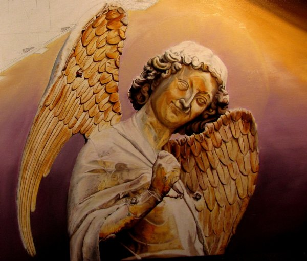 Marie et Jojo, bien sur Jeanne, les personnages et l'ange