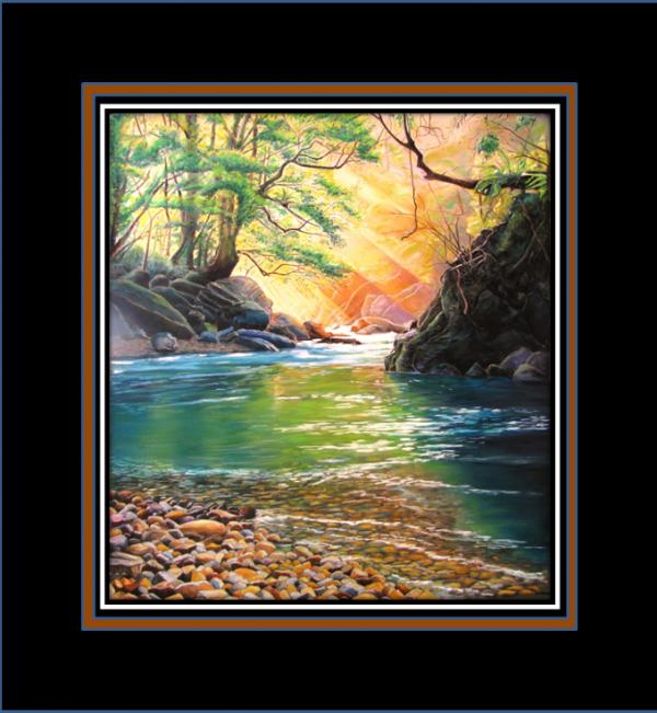 suivre le cours la rivière