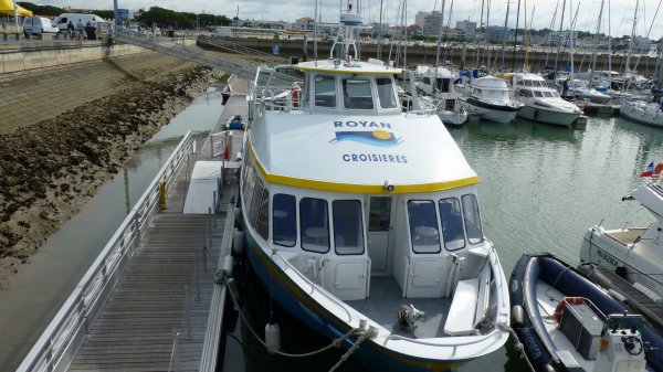 visite du port de plaisance a royan
