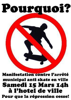 skate avec mes potes en ville