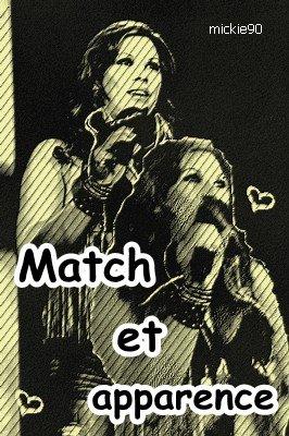 Match et apparence
