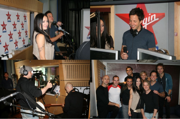 Simple Plan et Marie-Mai sur Virgin radio