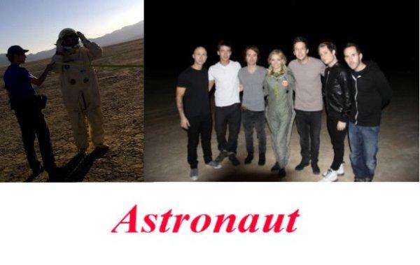 Sortie de Astronaut