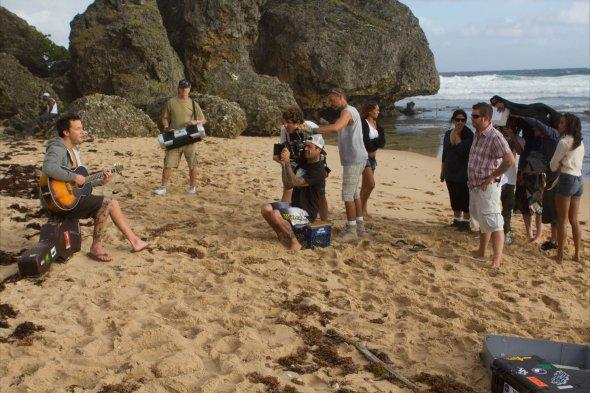 """Tournage de """"summer paradise"""" (2)"""