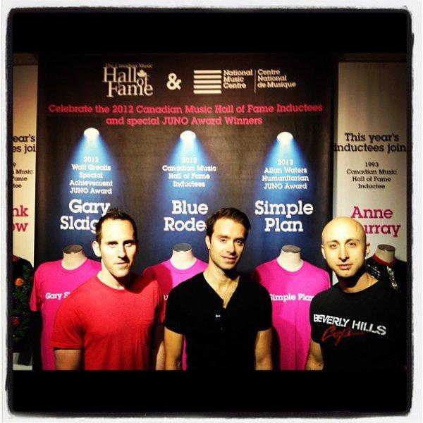 Sébastien, Jeff et Chuck ont visités le Centre national de musique à Calgary