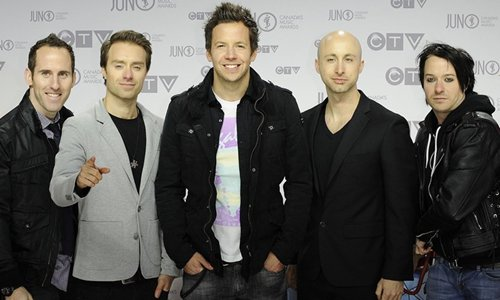 Simple Plan nominés au pris ADISSQ