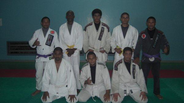 les ceintures blanches du club gjjcd