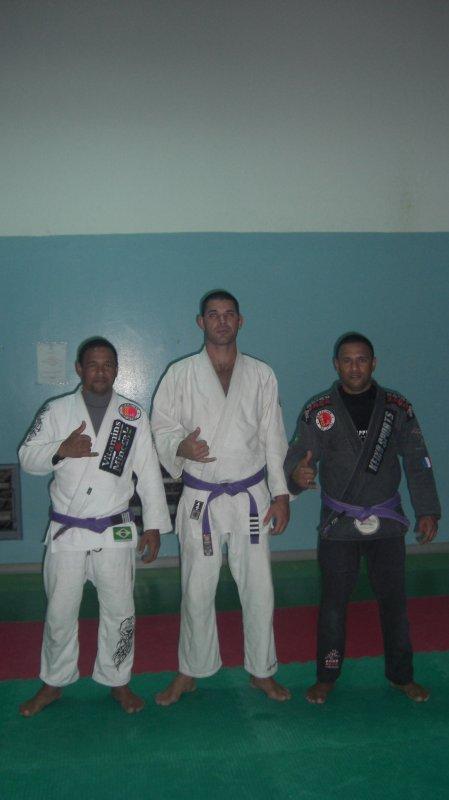 les ceintures violet du club gjjcd