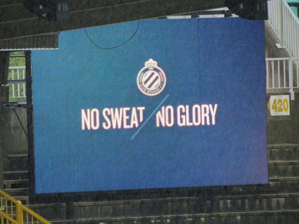 No sweat / No glory
