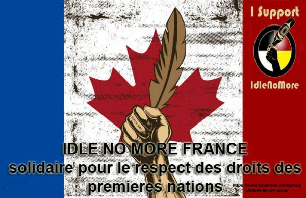 Creation et description d'Idle No More France