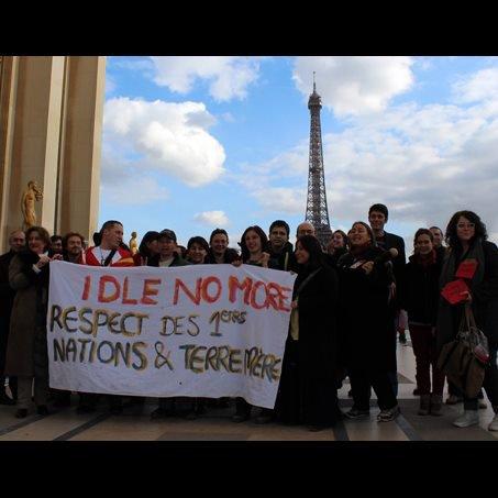 Evénement Idle No More le 16 février 2013 à Paris