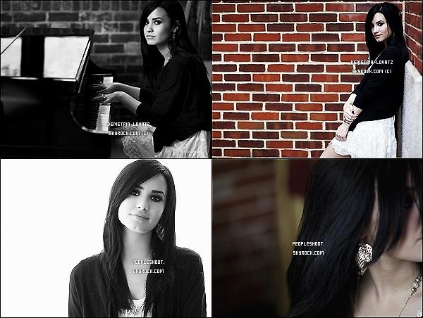 . Photoshoot : Demi Lovato posant pour un jolie shooting réalisé par D.Mai pour Self Assignment, datant de 2009. .