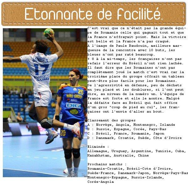 France 39-20 Roumanie