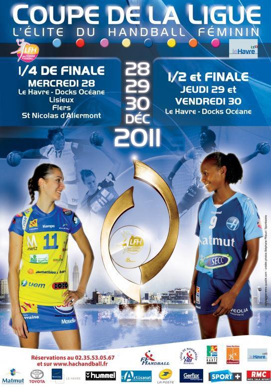 Coupe de la Ligue féminine : Quarts, demi et finale au Havre !