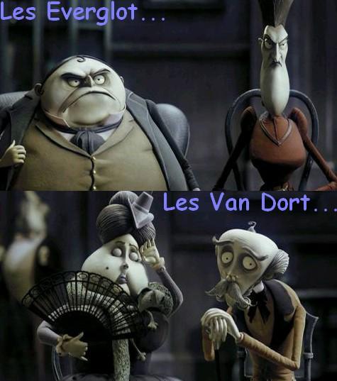 Vote : Famille Van Dort ou famille Everglot ?