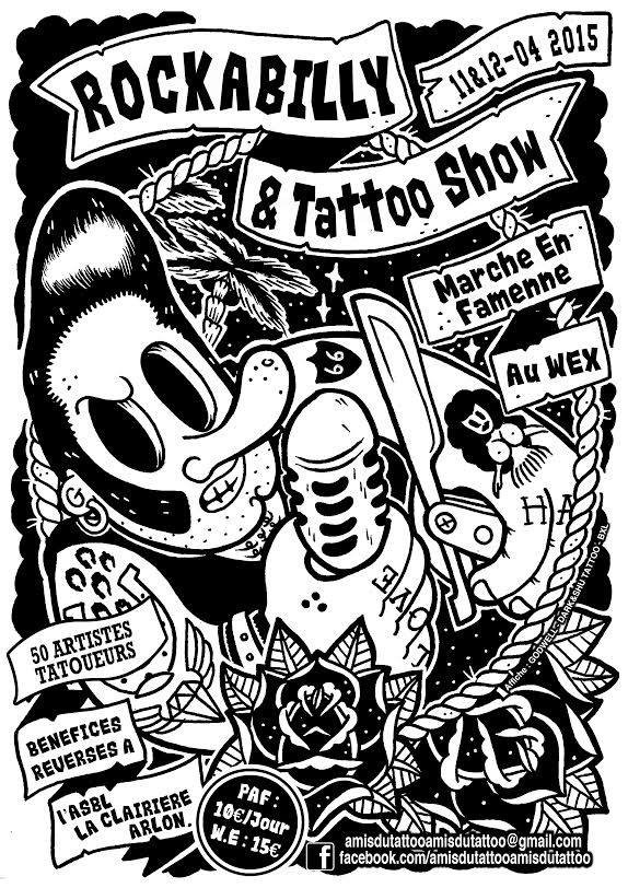 Convention tatoo's.