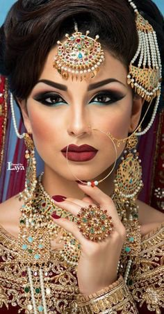 Indian Bride Make-Up