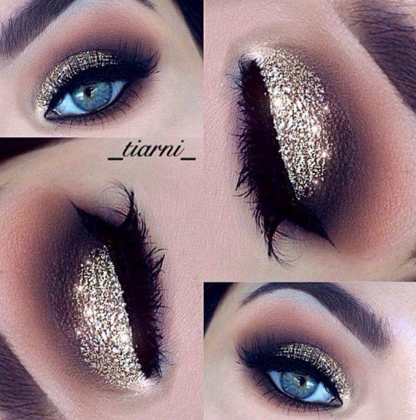 Glitter make-up
