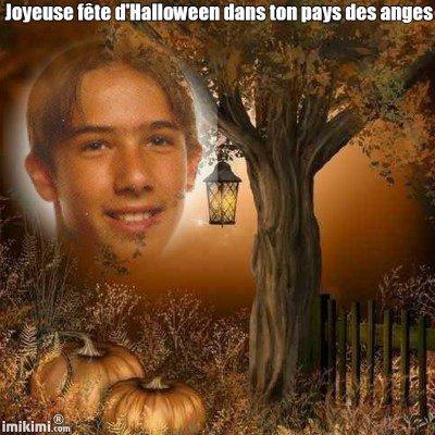 Mon amour d'enfant, je pense toujours à toi quand il y a la fête d'Halloween, tu me manque tellement !!!