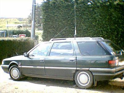 la voiture que j'avais