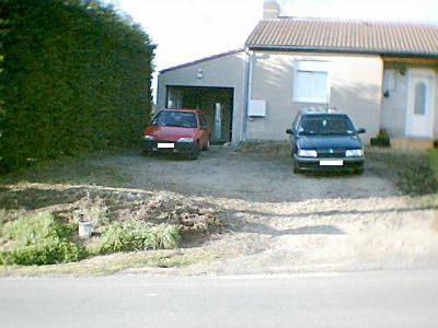 construction du nouveau garage