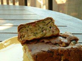 cake courgette chevre