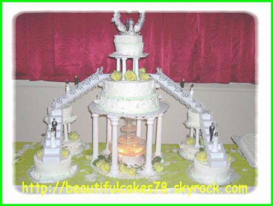 pice monte de 9 gteaux avec fontaine - Fontaine Gateau Mariage