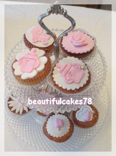Cupcakes pour un Baby Shower