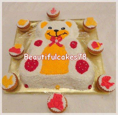 Gâteaux sur le thème Winnie l'Ourson