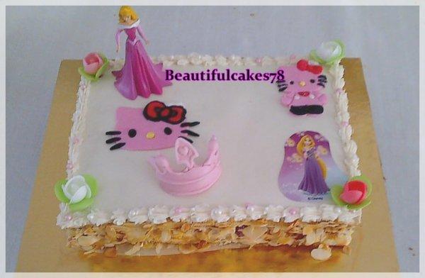 Thème Hello Kitty et princesse