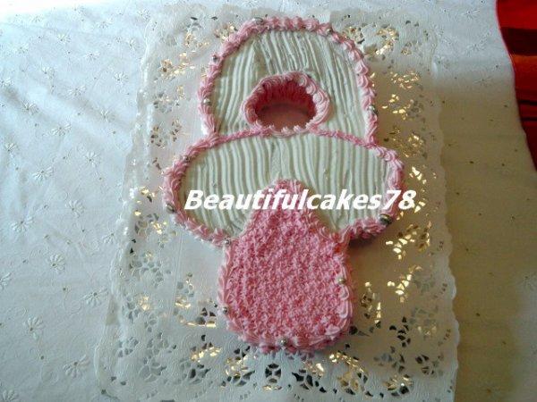 Gâteau en forme de sucette