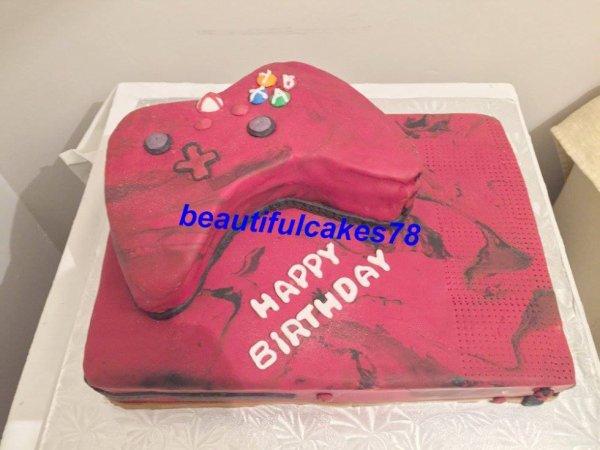 Gâteau en forme de XBOX